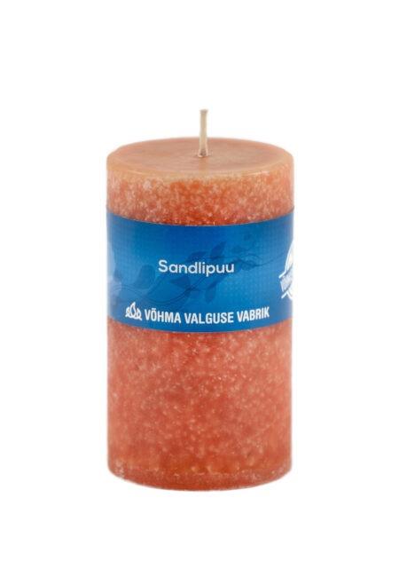 Sandlipuu looduslik lõhnaküünal käsitöö