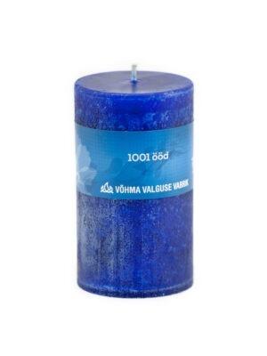 1001 ööd idamaine lõhnaküünal käsitöö tumesinine