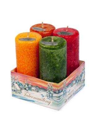 """Votive candle set """"Winter pleasure"""""""