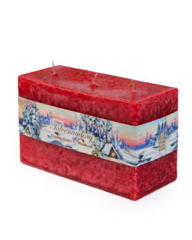 """Scented candle """"Brick"""", 3 wicks"""