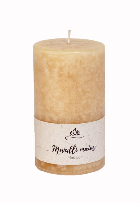 Scnted candle Marzipan  Sweet almond and sugar - a delicious aroma of a medieval delicacy.