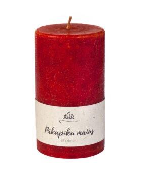 Päkapiku maius lõhnaküünl, punakaspruun, käsitöö