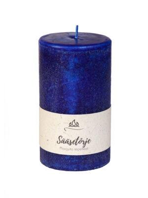Sääsetõrje lõhnaküünal, tumesinine, käsitöö