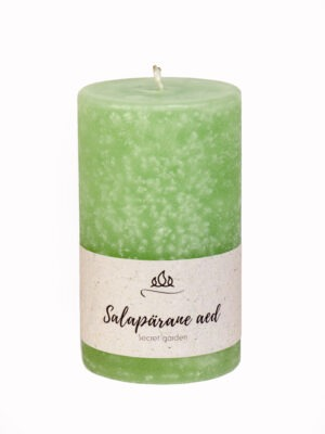 Scented candle Secret garden  Refreshing breeze of aromatic plants, wild flowers - peace and well-being guaranteed.