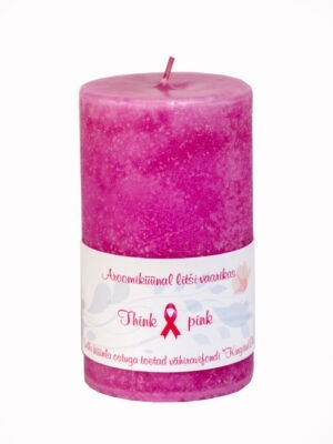 Scented candle  Think pink